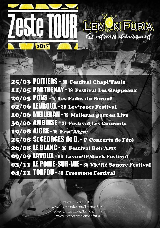 Zeste Tour 2017
